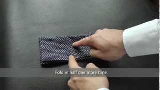 6 Ways to Fold a Pocket Square