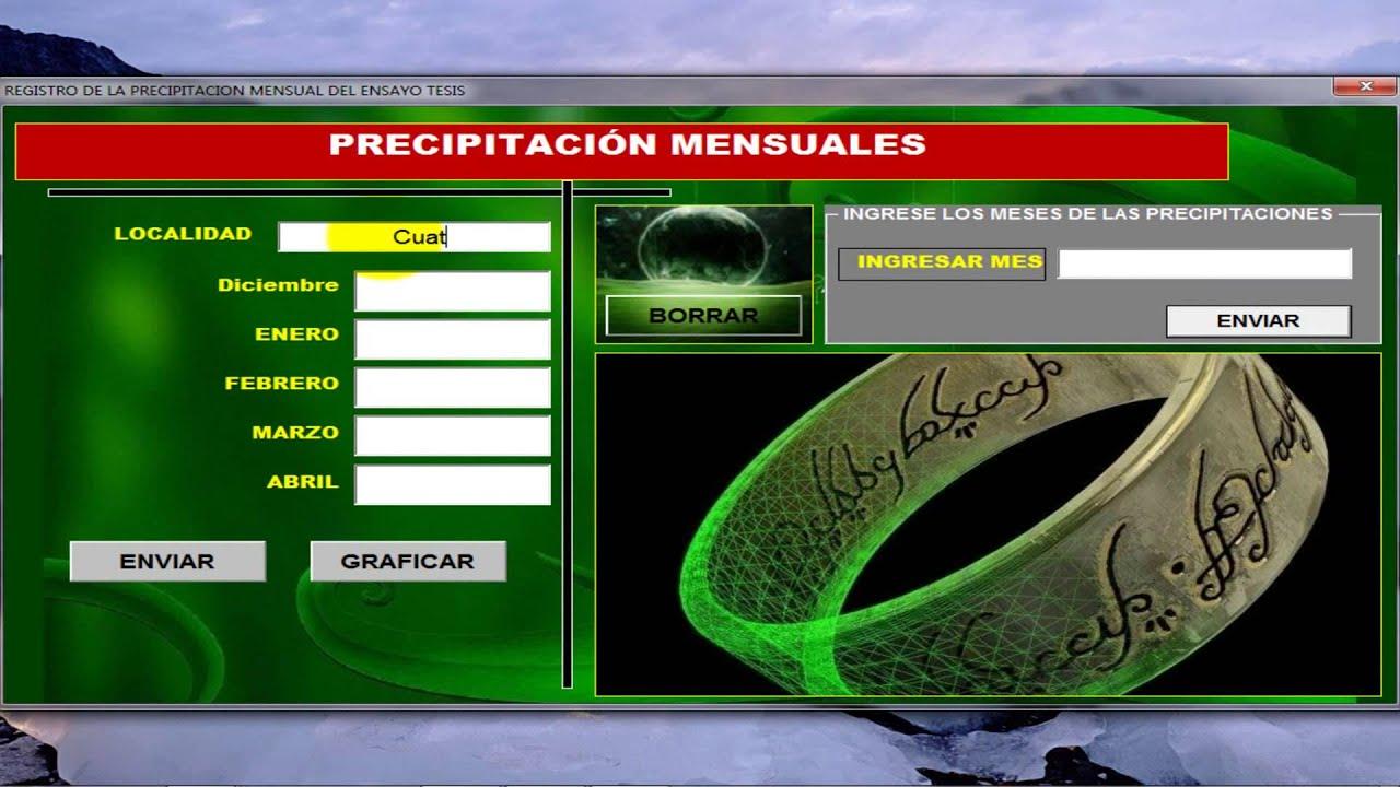 Excel 2010 Programa Para Hacer Tesis En Cultivo De Soja