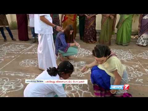Pongal Festival Celebration in Coimbatore with Foreigners
