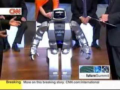 Korea's humanoid robot made his CNN debut - 1/6