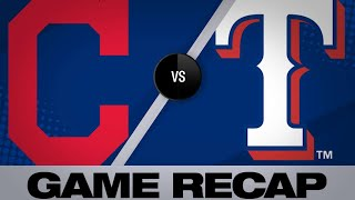 Homers back Plesac in win over Rangers | Indians-Rangers Game Highlights 6/18/19