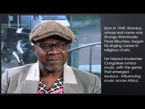 Papa Wemba, Congo music star, dies
