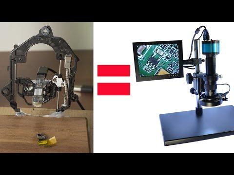 Как сделать микроскоп usb