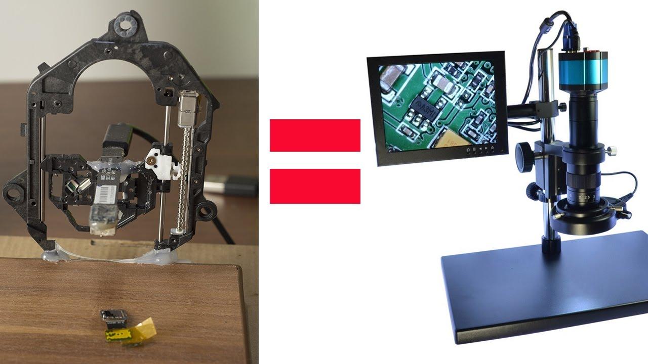 Микроскопы для домашних условиях 518