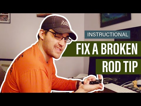 Fix A Broken Rod Tip   Kayak Angler   Rapid Media