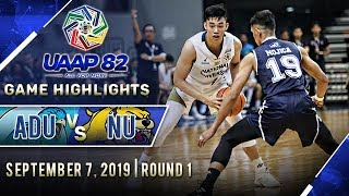 AdU vs. NU - September 7, 2019  | Game Highlights | UAAP 82 MB