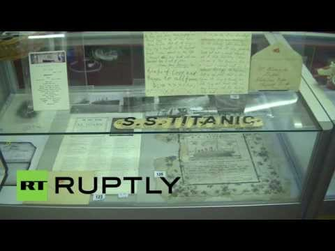 UK: Last traces of Titanic go under the hammer