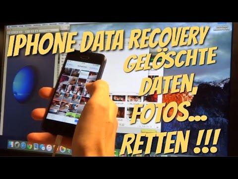 iPhone Daten wiederherstellen mit iPHONE DATA RECOVERY - gelöscht heißt nicht weg für immer...