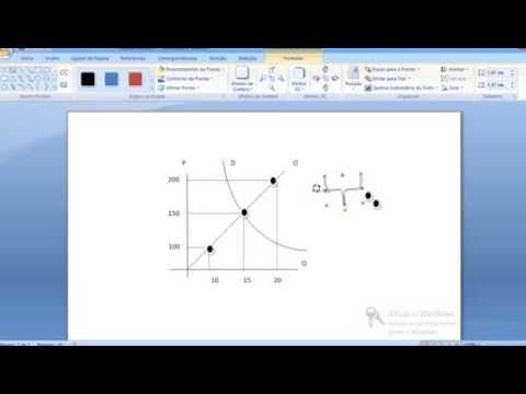 Criando gráfico de economia usando o microsoft word - prof. Juarez