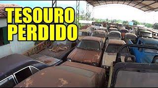 GALPÃO COM MAIS DE 30 CARROS ANTIGOS