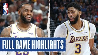 LAKERS at JAZZ | FULL GAME HIGHLIGHTS | December 4, 2019