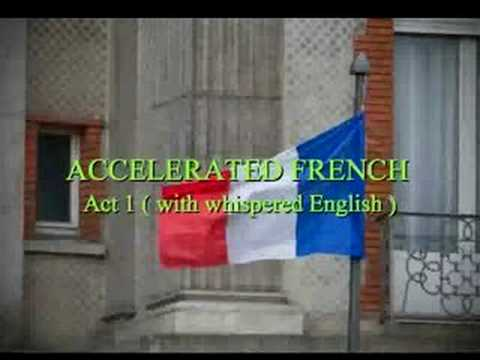 Speak French - audio (Whispered English) Accelerated Learning