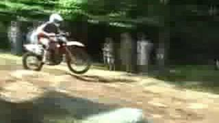gncc racing at snowshoe w.v. 2008 bike prt1