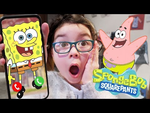 I CALLED SPONGEBOB SQUAREPANTS in REAL LIFE and HE ANSWERED then CAME TO MY HOUSE SKIT