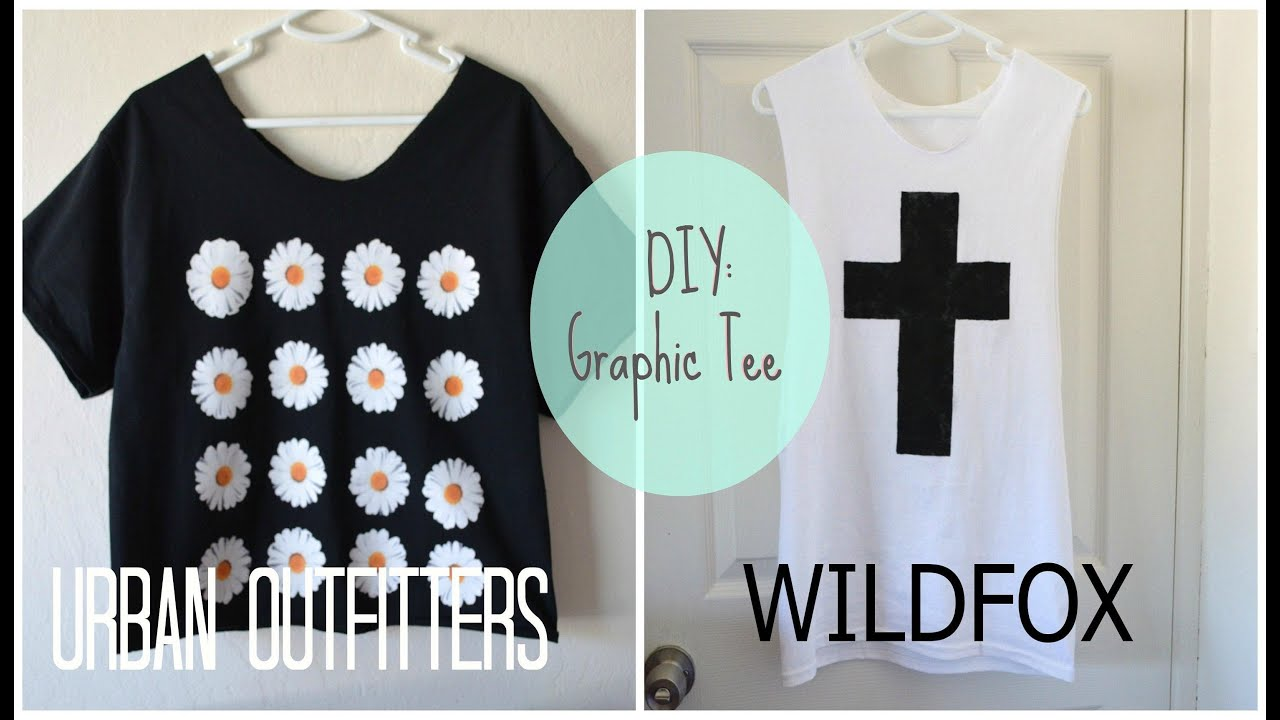 DIY: High End Graphic Tees - YouTube
