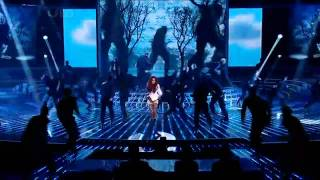 [HD] Cheryl Cole   Promise This live @ The X Factor Results Show (24th October 2010).avi