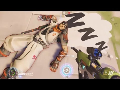 OVERWATCH ► FUNNIES, FAILS & CRAZY MOMENTS #26