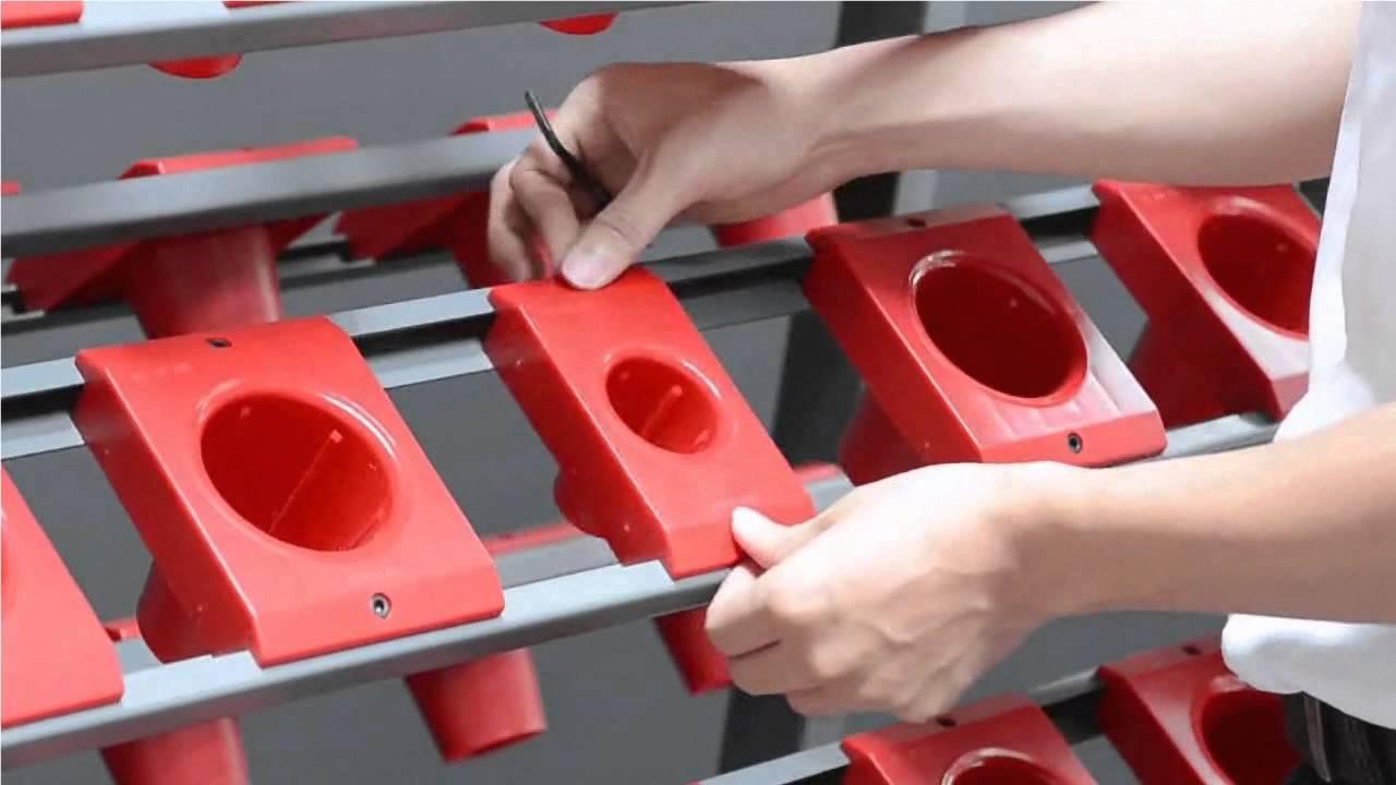 TW 1FTW 2F CNC Tool Storage Racks YouTube
