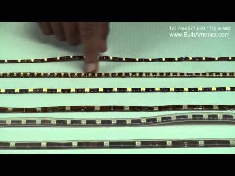 LED Strip differences - Epoxy vs Silicon. 5050 SMD vs 3528 SMD