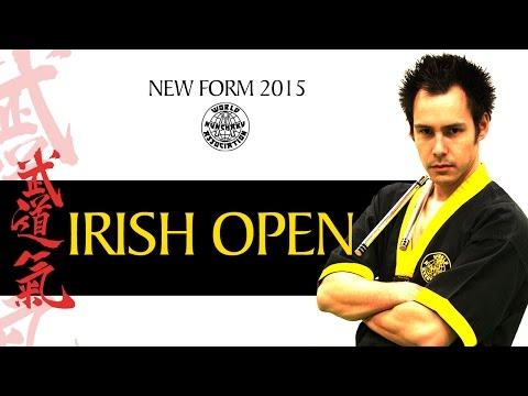 JORIS VAN DEN BERG - Nunchaku Musical forms IRISH OPEN 2015