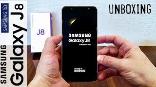 Unboxing (Desempaquetado), en Español, SAMSUNG GALAXY J8