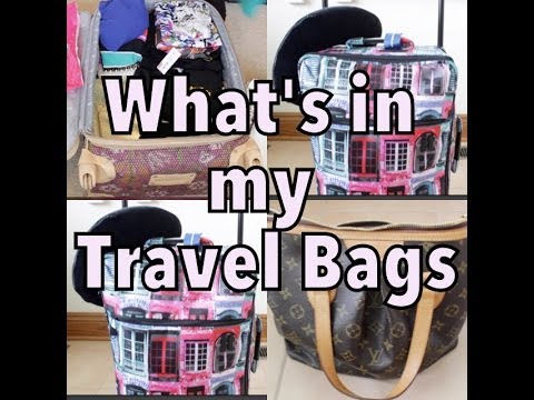 What's In My Suitcase, Purse & CarryOn | Traveling to Nigeria - naijagirl88