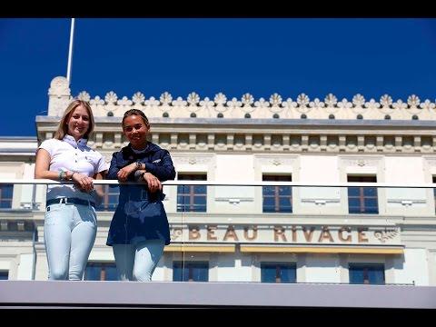 Stars in the Saddle: Lucy Davis (USA) & Jane Richard Philips (SUI)