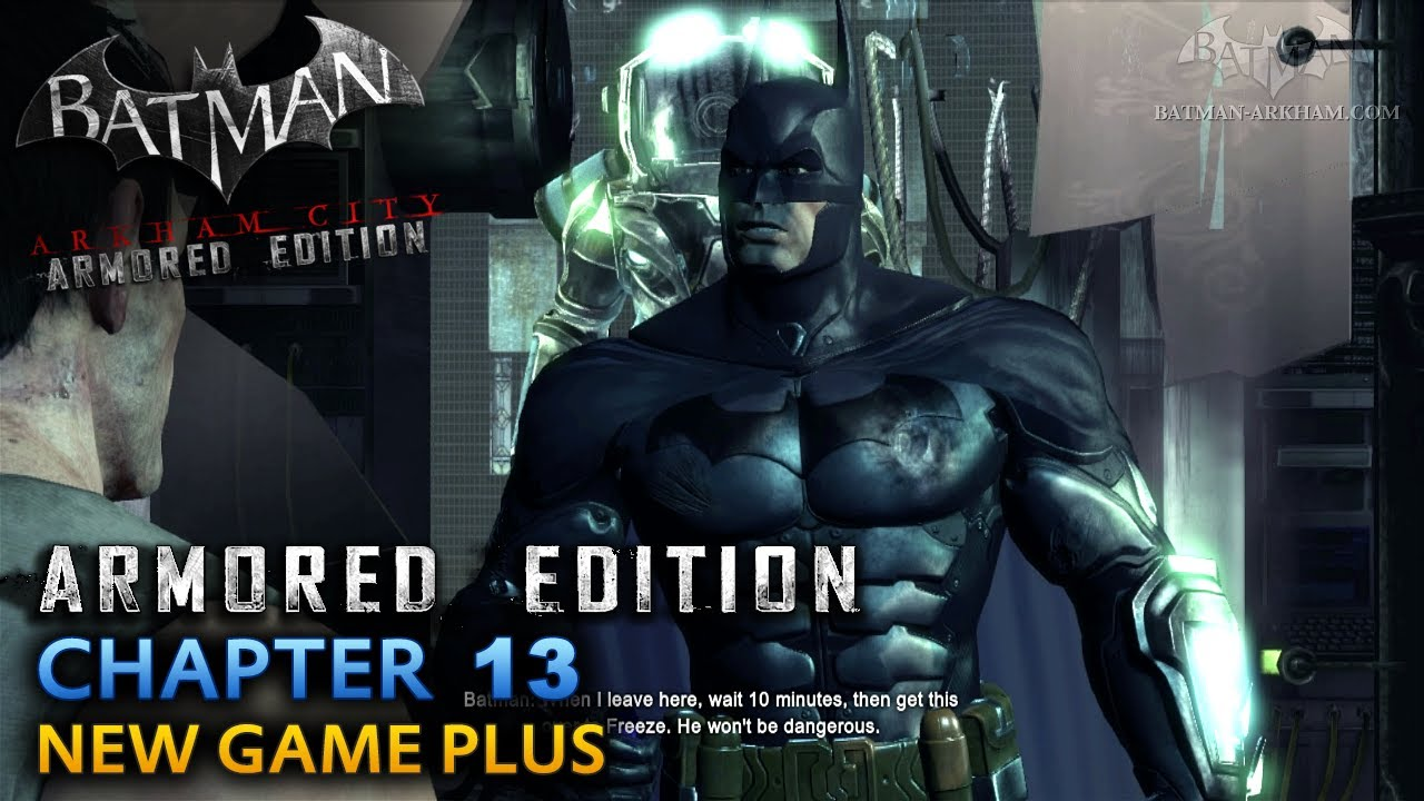 Batman Arkham City Armored Edition Wii Walkthrough Chapter Freeze Suit Youtube