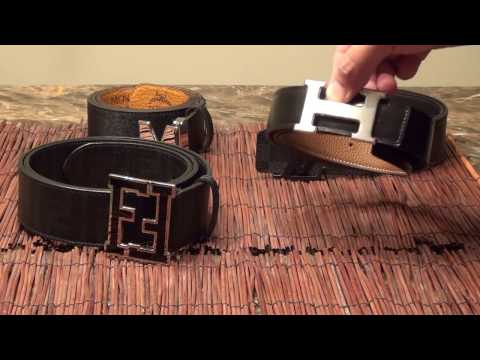 Which is better?!? 4 Designer Belt Quality Comparison (Hermes H Belt, Louis Vuitton, Fendi, and MCM)