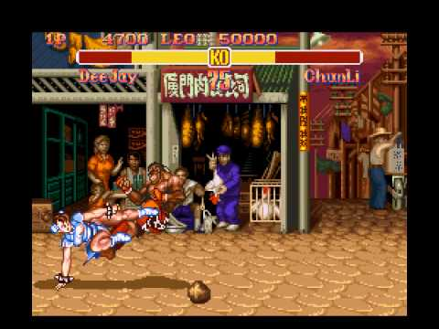 Super Street Fighter II - The New Challengers - Me vs. Super Street Fighter II - The New Challengers - User video
