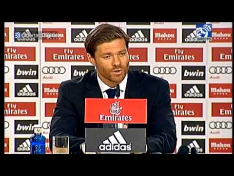 Xabi Alonso se despide del Real Madrid: