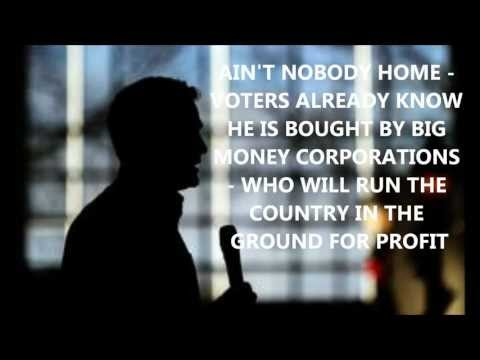Mitt Romney Will Lose Presidential Debates Because Ain't Nobody Home Mepac For Obama.wmv
