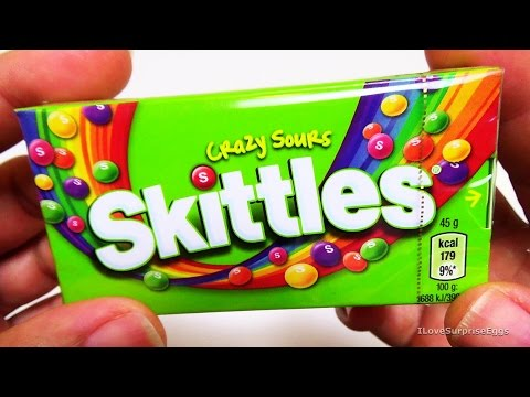 Skittles | Crazy Sours | [Taste & Review] [USA]