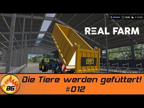 REAL FARM #012 | Die Tiere werden versorgt! | Let's Play [HD]