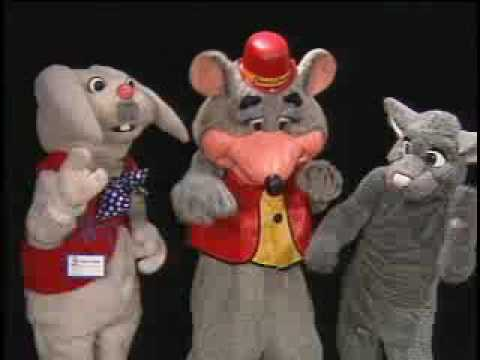 Chuck E. Cheese, Rapid T. Rabbit, Rattus T. Rat Video