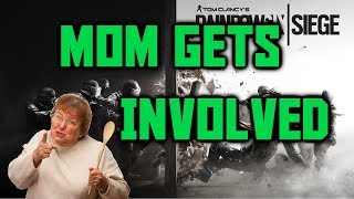 Scaring people on Xbox - Kid gets his mom. *VOICE CHANGER*