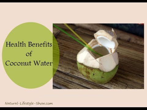 Health Benefits of Coconut Water!!