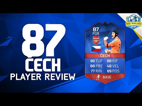 FIFA 16 | PETR ČECH UP RECORD BREAKER (87) | Player Review+Statistiche in game (ITA)