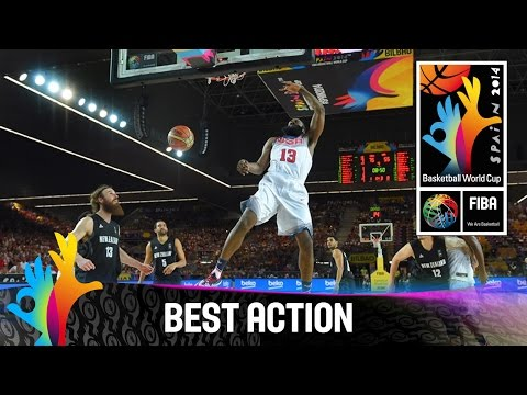 USA v New Zealand - Best Action - 2014 FIBA Basketball World Cup