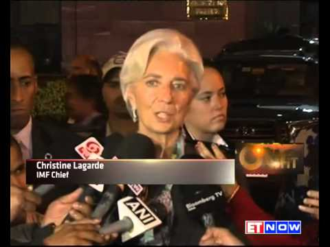 IMF Chief Christine Lagarde In India - Meets Modi & Jaitley