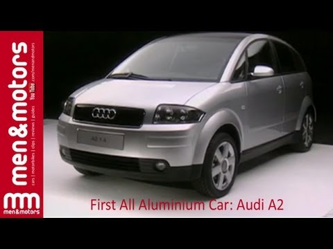First All Aluminium Car: Audi A2