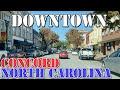 Concord - North Carolina - 4K Downtown Drive