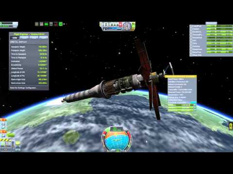 Kerbal Space Program - Interstellar Quest - Episode 30 - Moho Return Probe & Orbital Power Station