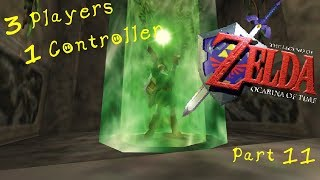 PPG 3 Players 1 Controller Ocarina of Time! Highlights #11 Good Plan. Great Plan.