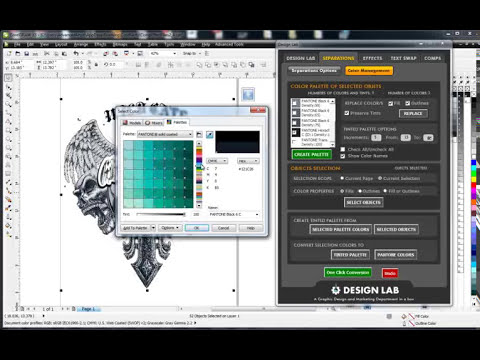 Ryonet Design Lab: CorelDRAW Add-on Software for Screen Printers