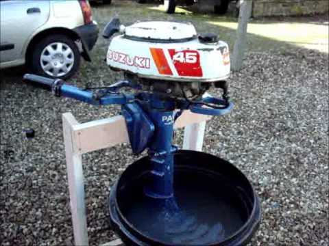 Suzuki Outboard Engine For Ebay Youtube