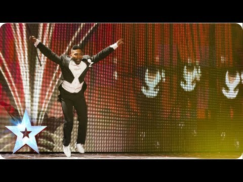 Joseph Hall has got all the moves | Semi-Final 3 | Britain's Got Talent 2013