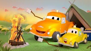 La Super Patrulla en Auto City - Bebé Tom está en problemas !  | Dibujos animados de carros