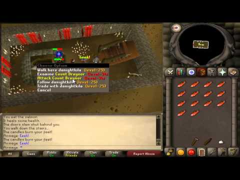 RuneScape 2007 Vampyre Slayer Quest Guide – Great Attack XP