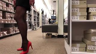Stilettos & Stockings Shopping